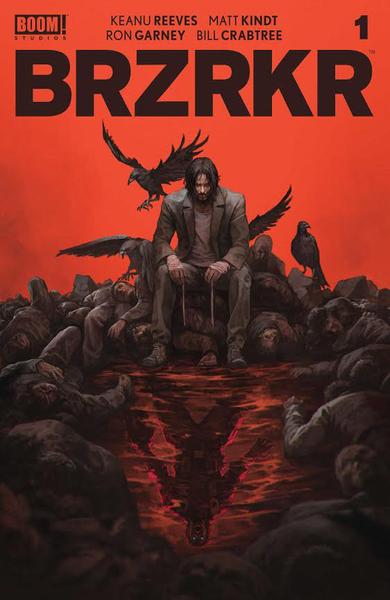 [The cover for BRZRKR (Berzerker) #1 (Forbidden Planet Exclusive Skan Variant)]