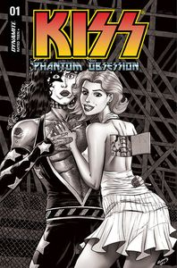 [Kiss: Phantom Obsession #1 (Cover L Seeley Black & White Variant) (Product Image)]