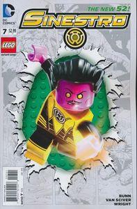 [Sinestro #7 (Lego Variant Edition) (Godhead) (Product Image)]
