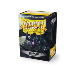[Dragon Shield: Card Sleeves: Classic Black (Box Of 100) (Product Image)]