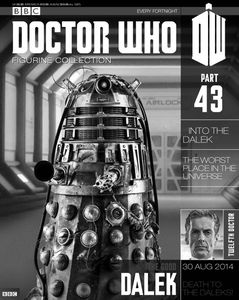 [Doctor Who: Figurine Collection Magazine #43 Good Dalek (Product Image)]