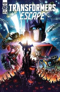 [Transformers: Escape #1 (Milne Variant) (Product Image)]