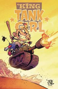 [King Tank Girl #5 (Cover B Skottie Young Cardstock) (Product Image)]