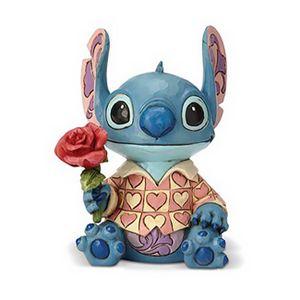 [Lilo & Stitch: Disney Traditions Statue: Valentine Clueless Casanova Stitch (Product Image)]