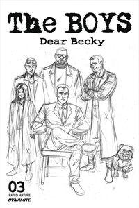 [The Boys: Dear Becky #3 (Robertson Line Art Premium Bonus Variant) (Product Image)]