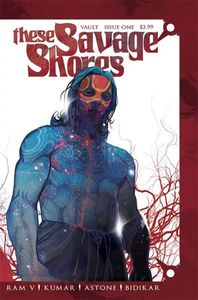 [These Savage Shores #1 (Christian Ward White Noise Variant Signed Edition) (Product Image)]