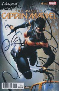 [Mighty Captain Marvel #3 (Crain Venomized Variant) (Product Image)]
