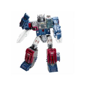 [Transformers: Generations Titans Return: Wave 1 Deluxe Action Figures: Fortress Maximus (Product Image)]