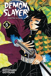 [Demon Slayer: Kimetsu No Yaiba: Volume 5 (Product Image)]
