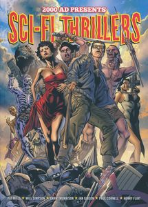 [2000AD Presents: Sci-Fi Thrillers (Product Image)]