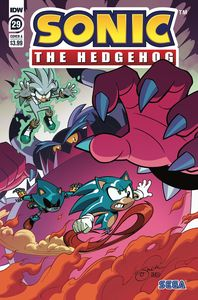 [Sonic The Hedgehog #29 (Cover A Lawrence) (Product Image)]