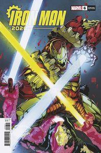 [Iron Man: 2020 #6 (Okazaki Variant) (Product Image)]