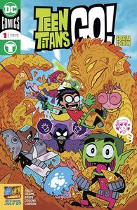[Teen Titans Go To The Movies #1 (Product Image)]
