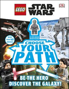 [Lego: Star Wars: Choose Your Path: With Minifigure (Hardcover) (Product Image)]