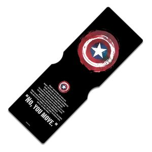 [Captain America: Travel Pass Holder: No You Move Quote (Product Image)]
