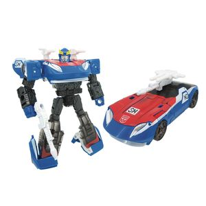 [Transformers: Generations Selects Deluxe Action Figure: Smokescreen (Product Image)]