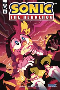 [Sonic The Hedgehog #39 (Fourdraine Variant) (Product Image)]