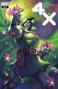[X-Men: Fantastic Four #2 (Hetrick Flower Variant) (Product Image)]