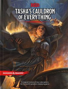 [Dungeons & Dragons: Tasha's Cauldron Of Everything (5th Edition) (Product Image)]