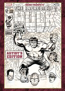 [Herb Trimpe: Incredible Hulk (Artist Edition Hardcover) (Product Image)]