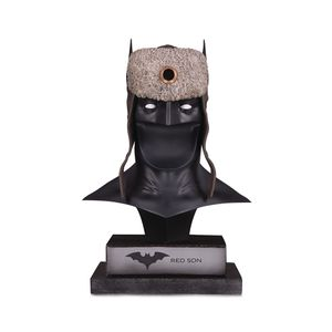 [DC Gallery: Bust: Red Son Batman Cowl (Product Image)]