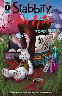 [The cover for Stabbity Ever After: Wonderland #1 (One Shot)]