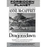 [Anne McCaffrey signing Dragonsdawn (Product Image)]