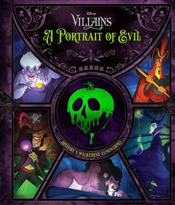 [Disney Villains: A Portrait Of Evil: History's Wickedest Luminaries (Hardcover) (Product Image)]