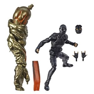 [Spider-Man: Far From Home: Marvel Legends Action Figure: Stealth Suit Spider-Man (Product Image)]