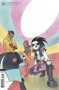 [Teen Titans #46 (Card Stock Peach Momoko Variant Edition) (Product Image)]