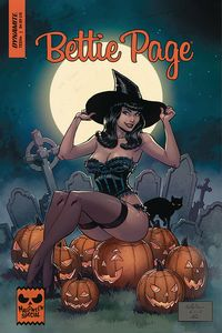 [Bettie Page: Halloween Special: One Shot (Cover B Brown) (Product Image)]