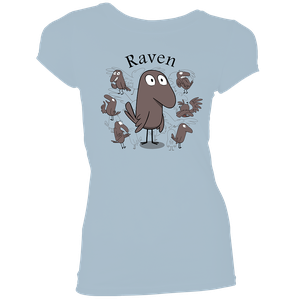 [Hilda: Women's Fit T-Shirt: Raven (Product Image)]
