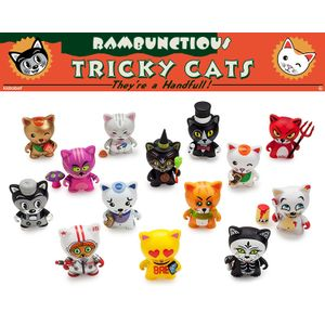 [Tricky Cats: Rambunctious: Mini Figures (Product Image)]