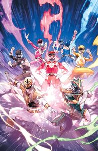 [Mighty Morphin Power Rangers #55 (Campbell Variant) (Product Image)]