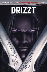 [The cover for Dungeons & Dragons: Drizzt (100-Page Giant)]