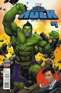 [Totally Awesome Hulk #1 (Frank Cho 2nd Printing Variant) (Product Image)]
