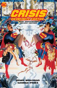 [Crisis On Infinite Earths: 35th Anniversary Deluxe Edition (Hardcover) (Product Image)]