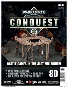 [Warhammer 40K: Conquest: Figurine Collection #80 (Product Image)]