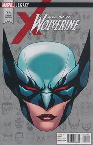 [All New Wolverine #25 (Mckone Legacy Headshot Variant Leg) (Product Image)]