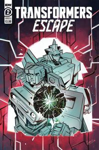[Transformers: Escape #2 (Cover A Mcguire-Smith) (Product Image)]