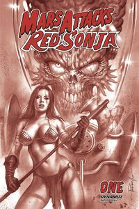 [Mars Attacks/Red Sonja #1 (Parrillo Tint Variant) (Product Image)]