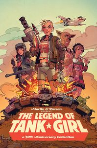 [The Legend Of Tank Girl (Hardcover) (Product Image)]