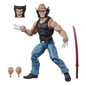 [Marvel 80th Anniversary: Marvel Legends Action Figure: Cowboy Logan (Product Image)]