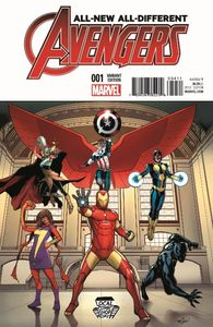 [LCSD 2015: All-New, All-Different Avengers #1 (Product Image)]