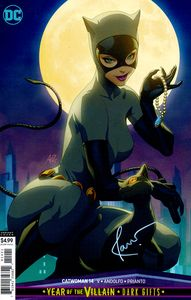 [Catwoman #14 (Card Stock Variant YOTV Dark Gifts Signed Edition) (Product Image)]
