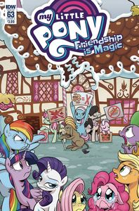 [My Little Pony: Friendship Is Magic #63 (Cover A Hickey) (Product Image)]