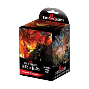 [Dungeons & Dragons: Icons Of The Realms Miniatures: Fangs & Talons (Booster) (Product Image)]