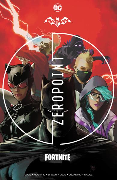 [The cover for Batman/Fortnite: Zero Point (Hardcover)]