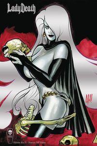 [Lady Death: Oblivion Kiss #1 (Foil Premium Cover) (Product Image)]