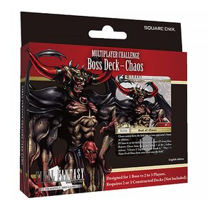 [Final Fantasy: Multiplayer Challenge Boss Deck: Chaos (Product Image)]